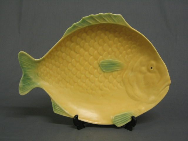 Lot no 824 a shorter sons 7 piece fish shaped dinner for Fish shaped plates