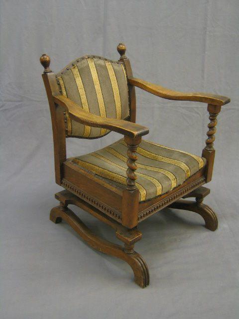 Lot No 73 Quot The Hanfold Spring Chair Quot An Oak Framed Tudor