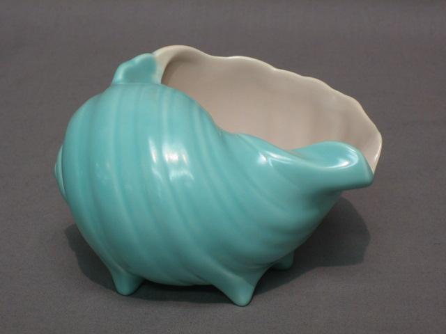 Lot No 625 A Poole Pottery Blue Glazed Shell Shaped Vase The Base Marked Poole C96 3 Quot
