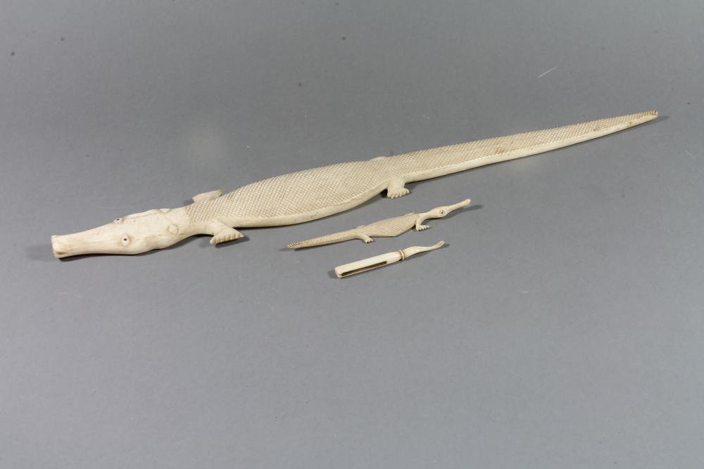 Ivory Crocodile In Denhams Past Antique Auctions