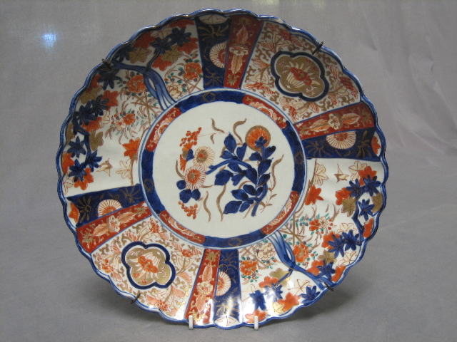 A 19th Century Japanese Imari Porcelain Plate 31st May