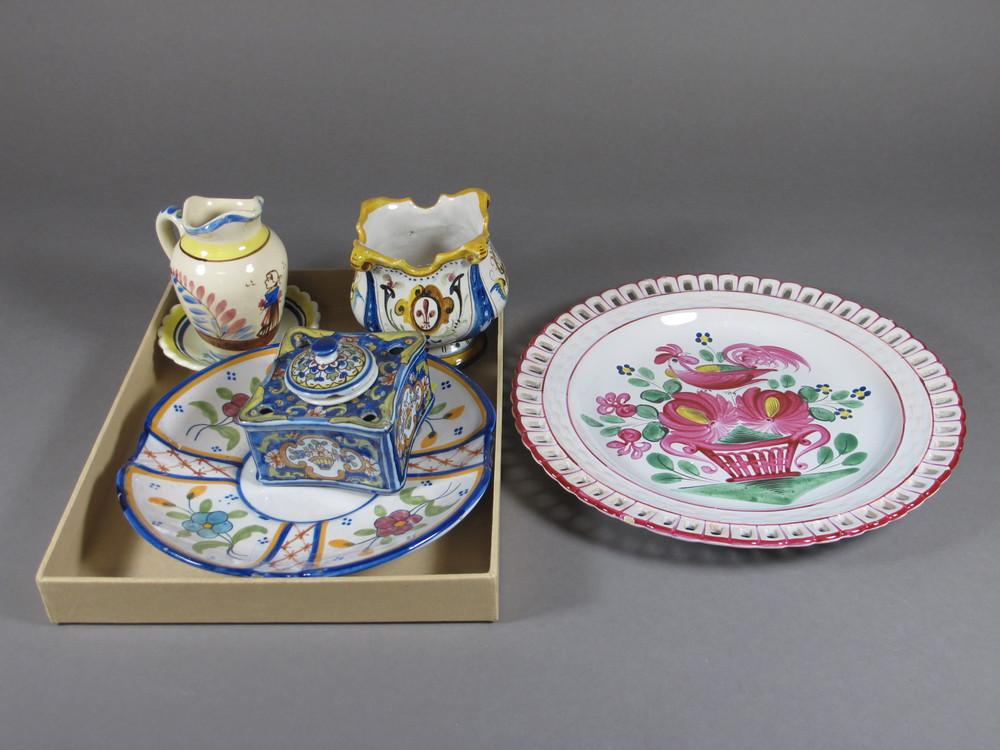 39 deco quimper 39 in denhams past antique auctions denhams for Deco quimper